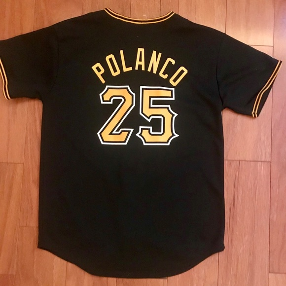 more photos cacb5 1ba3f Pittsburgh Pirates Polanco Jersey